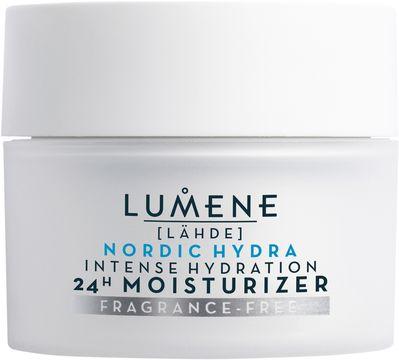 Lumene Nordic Hydra Lähde 24H Moisturizer Fragrance Free Ansiktskräm, 50 ml