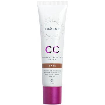 Lumene CC Color Correcting Cream Dark CC-kräm, 30 ml