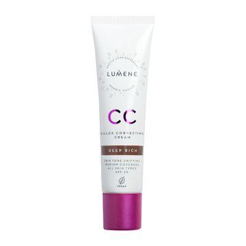 Lumene CC Color Correcting Cream Deep Rich CC-kräm, 30 ml
