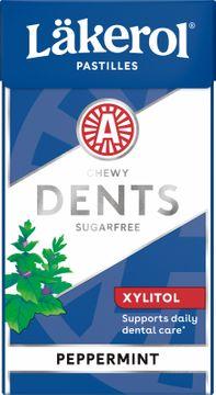 Läkerol Dents Peppermint Halstabletter, 36 st