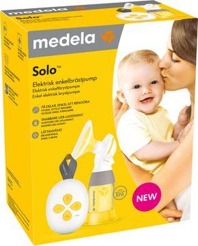 Medela Solo Elektrisk Enkel-Bröstpump Bröstpump, 1 st