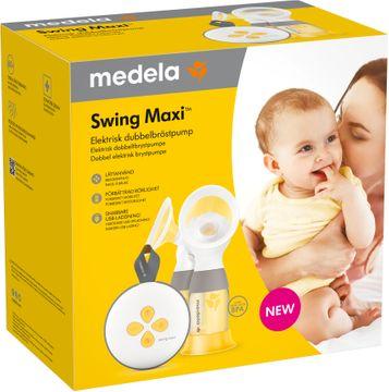 Medela Swing Maxi Elektrisk Dubbel-Bröstpump Bröstpump, 1 st