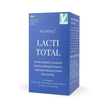 Nordbo LactiTotal 50 miljarder Mjölksyrabakterier Kapslar, 30 st