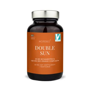 Nordbo Double Sun Betakaroten Kapslar, 50 st