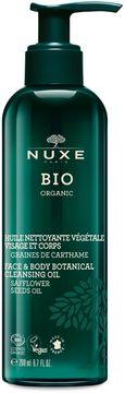 Nuxe Bio Organic Face & Body Cleansing Oil Duscholja, 200 ml