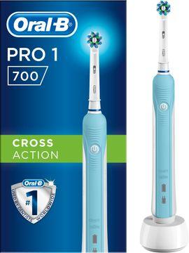 Oral-B Pro 1 700 Blue CA Eltandborste Eltandborste, 1 st