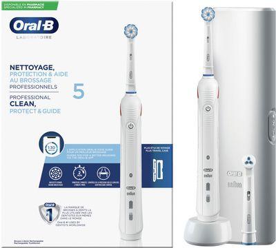Oral-B Professional Laboratory 5 Eltandborste, 1 st