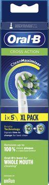 Oral-B Cross Action CleanMax Tandborsthuvud Tandborsthuvuden, 5 st