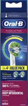 Oral-B Floss Action CleanMax Tandborsthuvud Tandborsthuvuden, 5 st