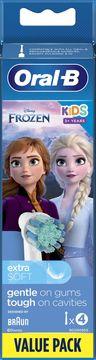 Oral-B Kids Frozen Extra Soft Tandborsthuvud 3+ år Tandborsthuvuden, 4 st