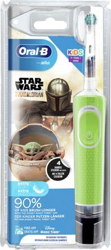 Oral-B Kids Star Wars Mandalorian Extra Soft Eltandborste Eltandborste, 1 st