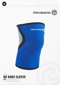 Rehband QD Knee Sleeve 3 mm Blue M Knästöd, 1 st