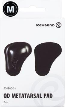 Rehband Metatarsal Pad Black M Fotinlägg, 1 par