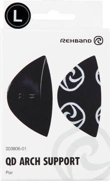 Rehband QD Arch Support Black L Fotinlägg, 1 par
