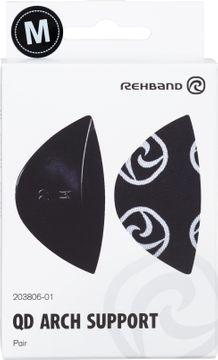 Rehband QD Arch Support Black M Fotinlägg, 1 par