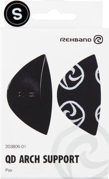Rehband QD Arch Support Black S Fotinlägg, 1 par