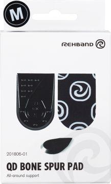 Rehband QD Bone Spur Pad Black M Hälinlägg, 1 par