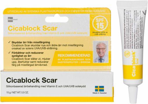 Cicamed Cicablock Scar Kroppsvård, 15 ml