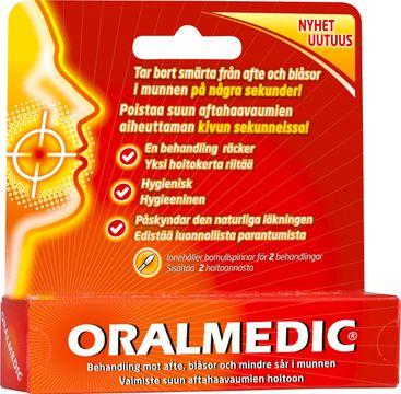 Oralmedic Mot afte och blåsor Vätskande tops, 2 st