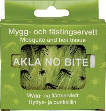 AKLA NO BITE Mygg och fästingservett 10