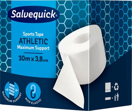 Salvequick Sport tape Sporttejp, 10 m