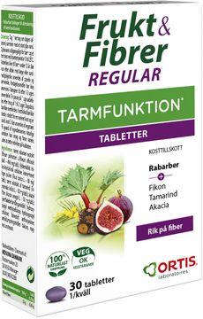 Frukt & Fibrer kosttillskott Tablett, 30 st