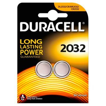 Duracell 2032 3V Litiumbatteri 2-pack