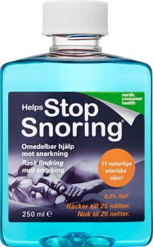 Helps Stop Snoring Munskölj mot snarkning 250ml