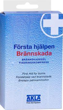 AKLA Brännskadegel och fixeringskompress 1 st