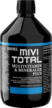 Mivitotal Plus Flytande vitaminkomplex, 500 ml