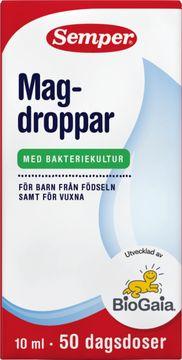 Semper Magdroppar Magdroppar, 10 ml