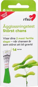 RFSU Ägglossningstest Störst Chans Ägglossningstest, 14 st