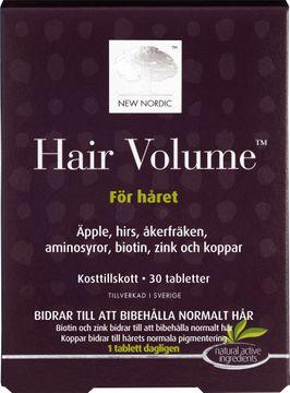 New Nordic Kosttillskott Hair Volume 30 st