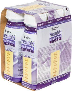 Fresubin Thickened Stage 2 kosttillägg, drickfärdig, vanilj 4 x 200 milliliter