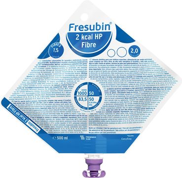 Fresubin 2 kcal HP Fibre sondnäring, EasyBag 15 x 500 milliliter