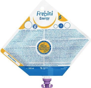 Frebini energy sondnäring, EasyBag 15 x 500 milliliter