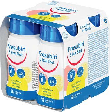 Fresubin 5 kcal Shot Fettemulsion, citron 4 x 120 milliliter