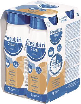 Fresubin 2 kcal DRINK svamp, komplett drickfärdigt kosttillägg 4 x 200 milliliter