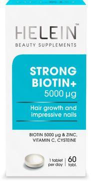 Helein Strong Biotin+ Kosttillskott skönhet 60 st