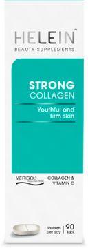 Helein Strong Collagen Kosttillskott skönhet 90 st