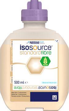 Isosource Standard Fibre sondnäring, förpackning Smart Flex 12 x 500 milliliter