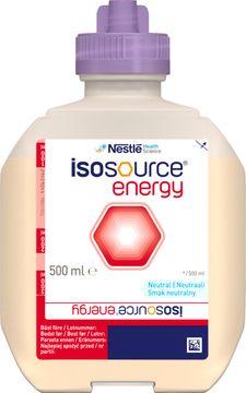 Isosource Energy sondnäring, förpackning Smart Flex 12 x 500 milliliter