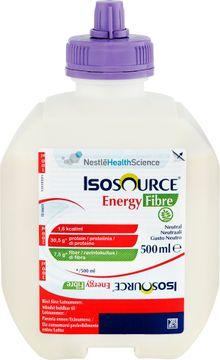Isosource Energy Fibre sondnäring, smart flex förpackning 12 x 500 milliliter
