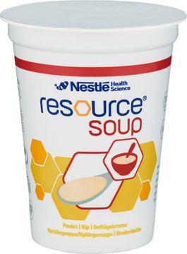 Resource Soup komplett kosttillägg, kyckling 4 x 200 milliliter