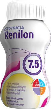 Renilon 7.5 kosttillägg, aprikos 4 x 125 milliliter