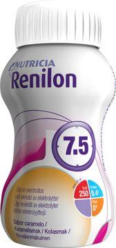 Renilon 7.5 kosttillägg, karamell 4 x 125 milliliter