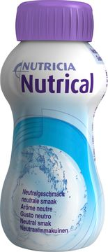 Nutrical lösning, neutral 4 x 200 milliliter