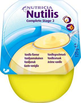 Nutilis Complete stage 2 komplett kosttillägg, vanilj 4 x 125 gram