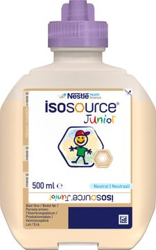 Isosource Junior sondnäring för barn, neutral, Smart Flex 12 x 500 milliliter