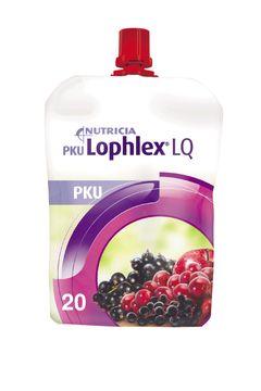 PKU Lophlex LQ 20 drickfärdig PKU-dryck, saftiga bär 30 x 125 milliliter